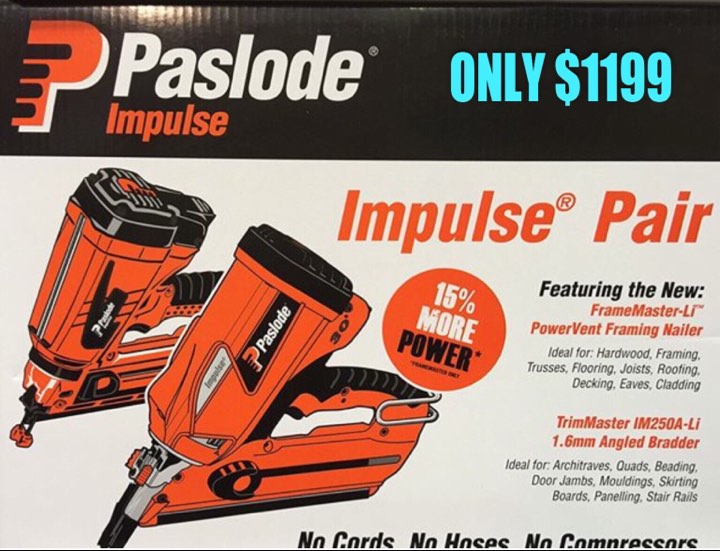 PASLODE SALE