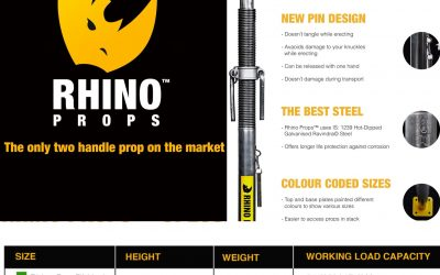 Ison and Co now stock Rhino Props