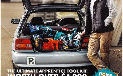 2019 Apprentice Promotion – WIN A BOOT LOAD OF TOOLS