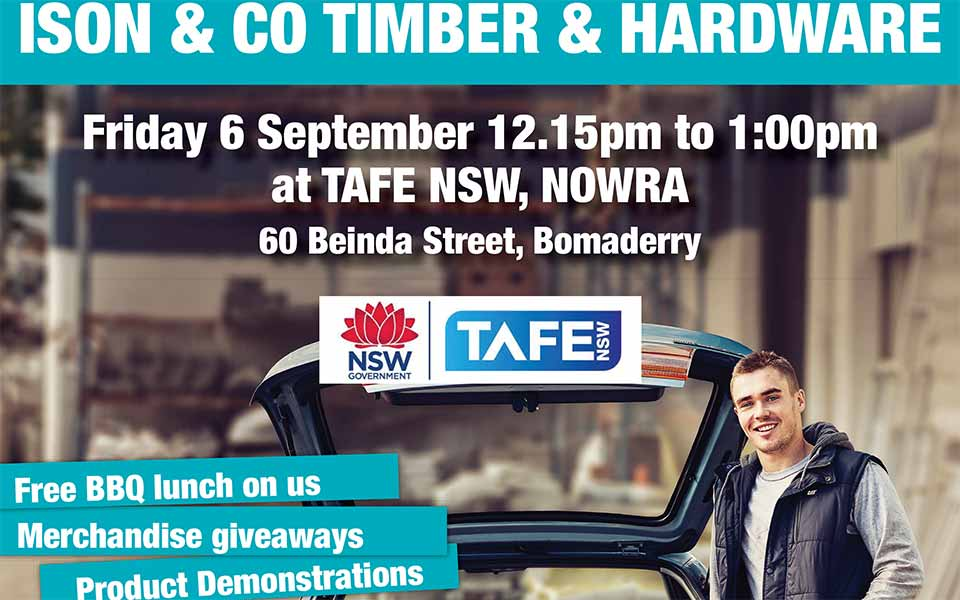 BBQ at Nowra TAFE Supporting Local Apprentices
