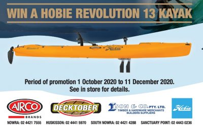 Spend $50 To Win A Hobie Kayak