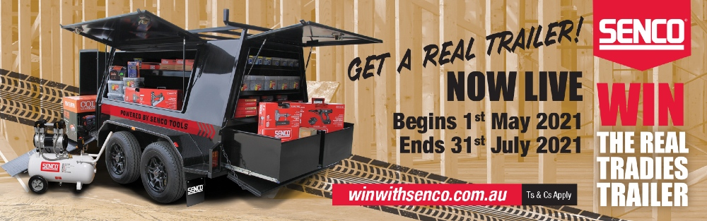 Win a tradie's trailer stocked with tools!